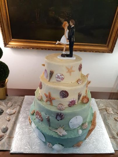 MH Wedding Cake