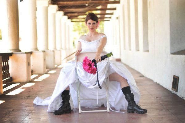 The cool bride