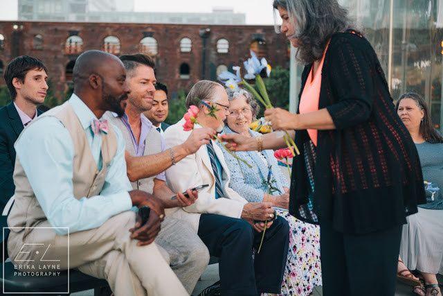 Tmx 1482948442386 Janes Carousel Dumbo Brooklyn Gay Wedding 109 Brooklyn wedding officiant