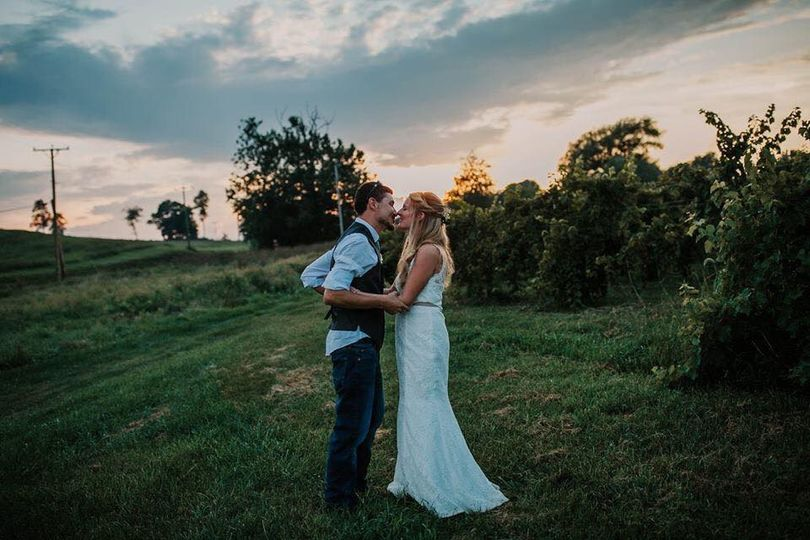 Rockbridge Vineyard wedding