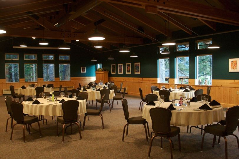 Meeting facilities at the lodge's onsite Resurrection Roadhouse Restaurant facility can provide...