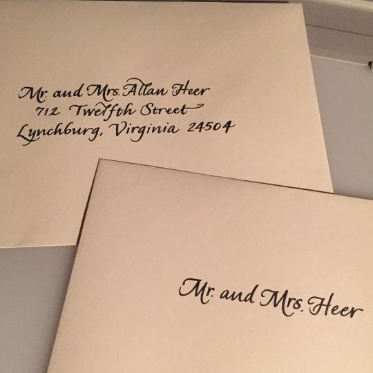 Envelope addressing (envelope set)