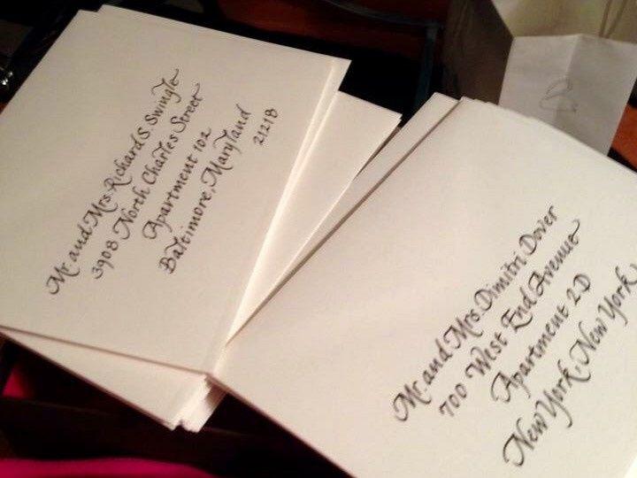 Tmx 1465497271975 Image Pikesville, Maryland wedding invitation