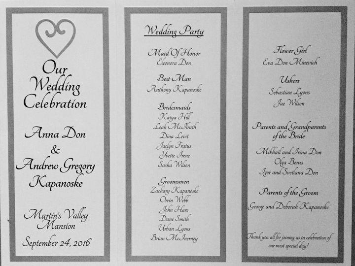 Tmx 1474822644426 Img3998 Pikesville, Maryland wedding invitation