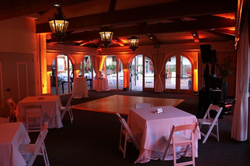 Uplights La Jolla Room, La Jolla Shores