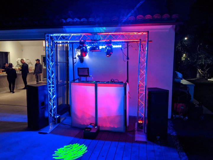 DJ Booth/ Lighting Truss