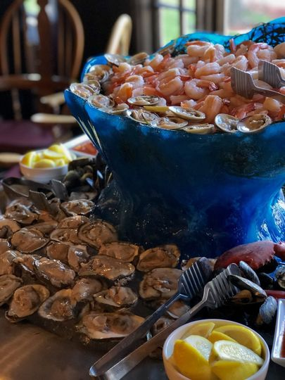 Add a raw bar for your guests!