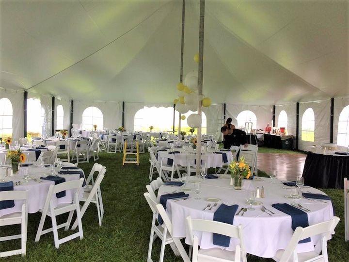 Tmx 1501270712094 Rye Harbor Tent Layout Hampton, NH wedding catering