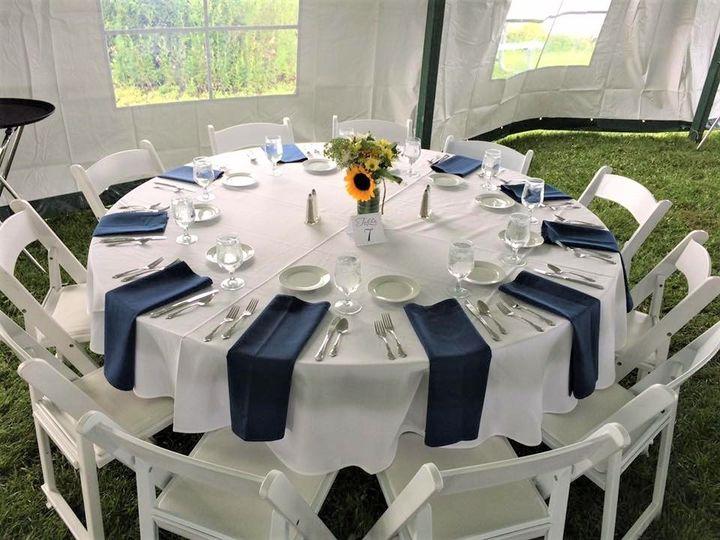 Tmx 1501270737975 Wedding Setup 2 Hampton, NH wedding catering