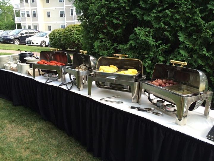 Tmx 1501272410479 Clambake Buffet Setup Hampton, NH wedding catering