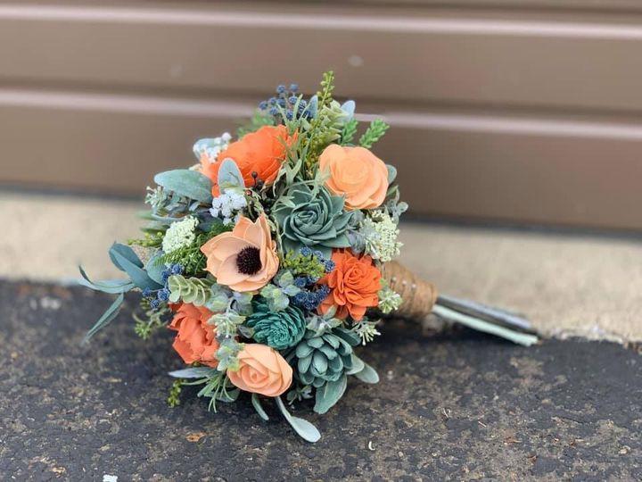 Tmx Wooden Flowers 51 1509575 1567114705 Hillsboro, OR wedding florist