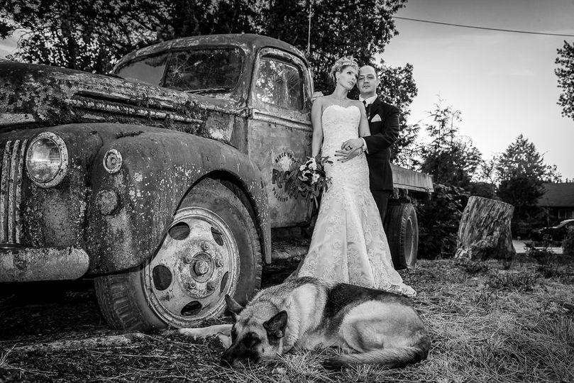 Wedding Portraits Rustic Capture