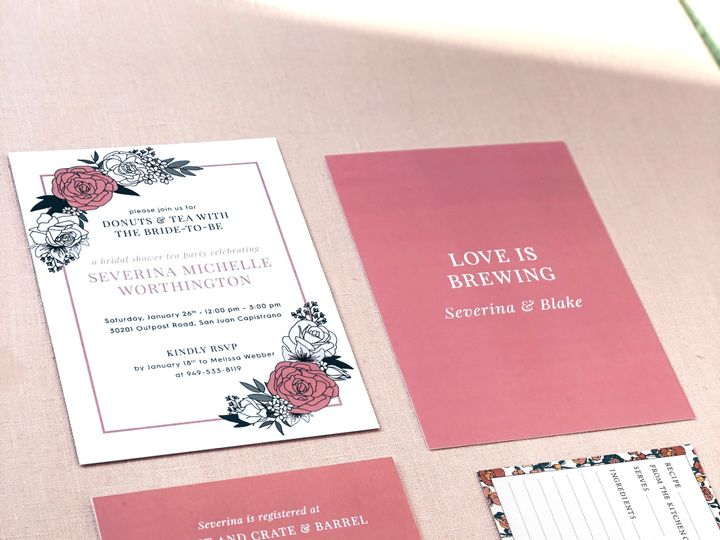 Tmx Bridal Invite Insta 51 1069575 1559500825 San Juan Capistrano, CA wedding invitation