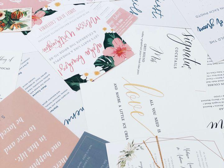 Tmx Img 7277 51 1069575 1559500719 San Juan Capistrano, CA wedding invitation