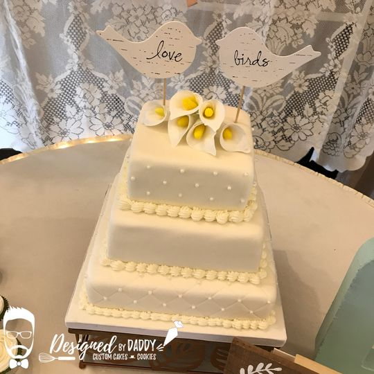 Designed by Daddy | Custom Cakes & Cookies - Wedding Cake ...