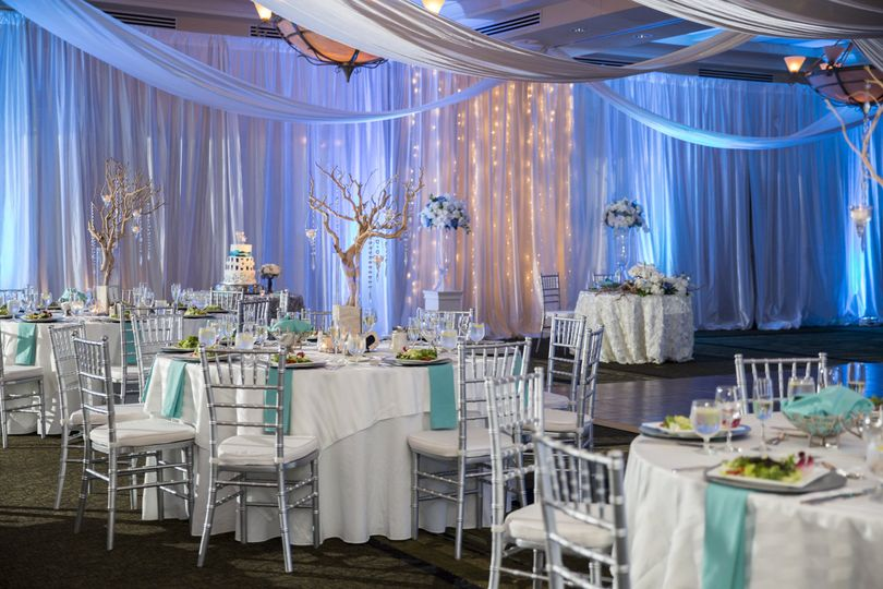 Reception design and decor