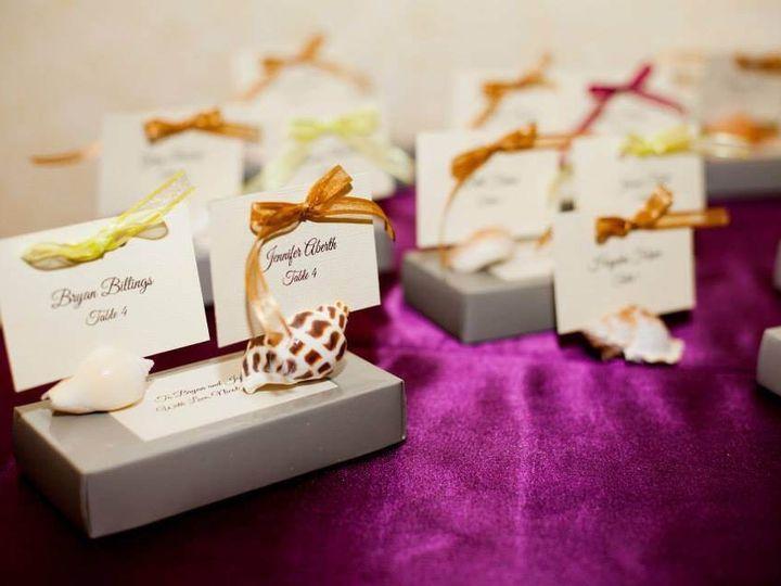 Tmx 1398947387449 Placecards Hilton Naple Naples, FL wedding venue