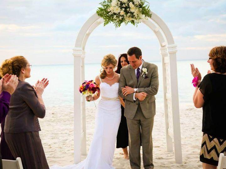 Tmx 1398947407584 Hiltonnaplesbeachceremonywitharc Naples, FL wedding venue