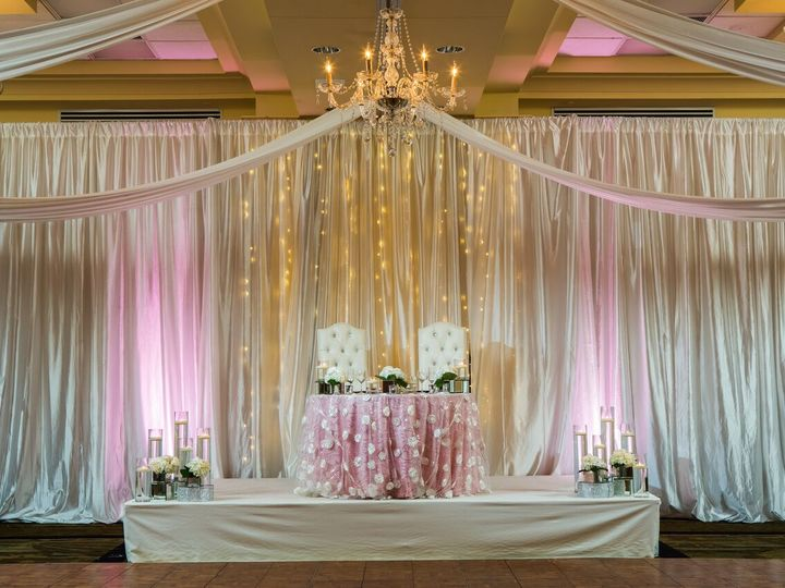 Tmx Sweetheart Table With Twinkle Wall 2 51 20675 Naples, FL wedding venue