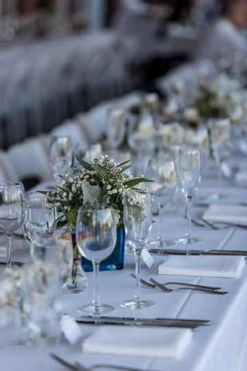 Sophisticated table setting