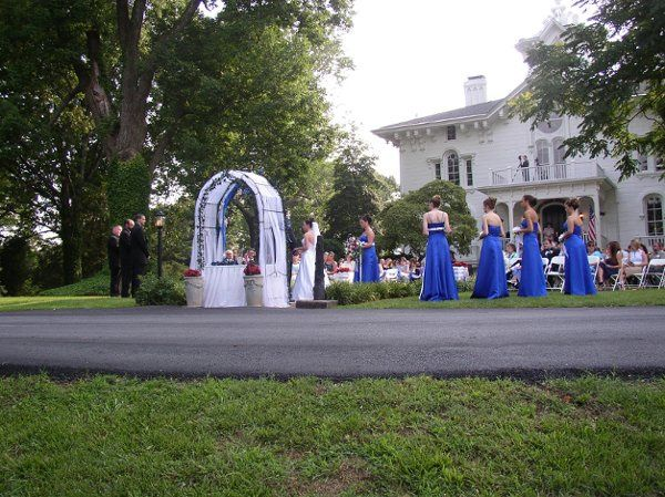 Cermony at End of Sidewalk