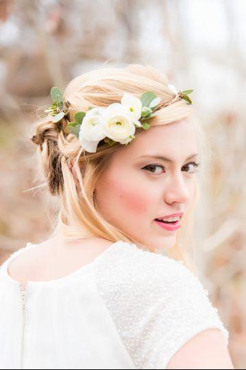 inspiration shoots snow woods bride 0050