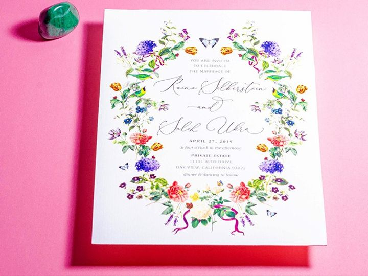 Tmx Invite 51 1351675 158820109526029 Los Angeles, CA wedding invitation