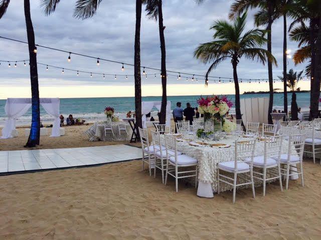 Wedding venue outdoors