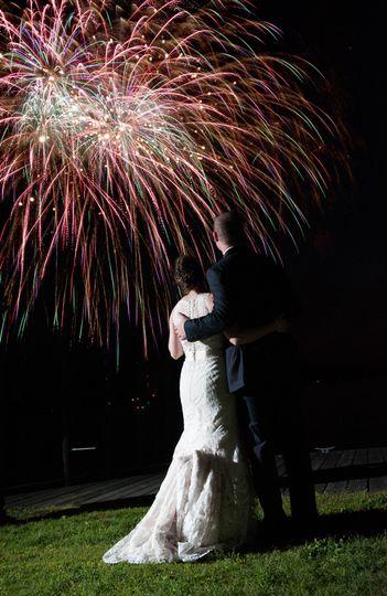 Fireworks in Clayton NY