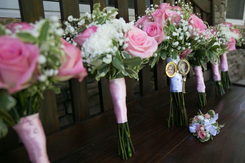 Bouquet - living radiant photo