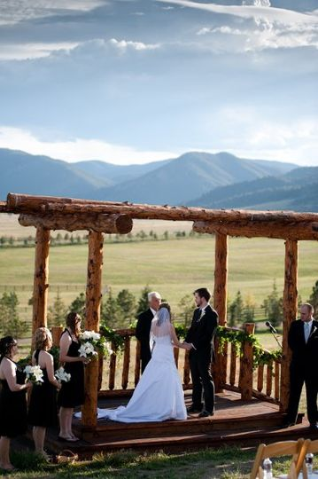 Beautiful Mountain-side Wedding Ceremony