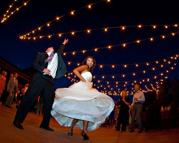 Dance under the stars on our courtyard