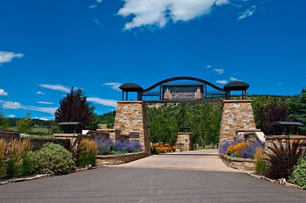 Tmx 1336429203732 FrontGateWideShot Larkspur, CO wedding venue