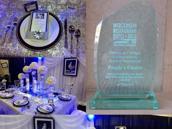 Tmx 1375476489116 Table Contest 1 Milwaukee, WI wedding catering
