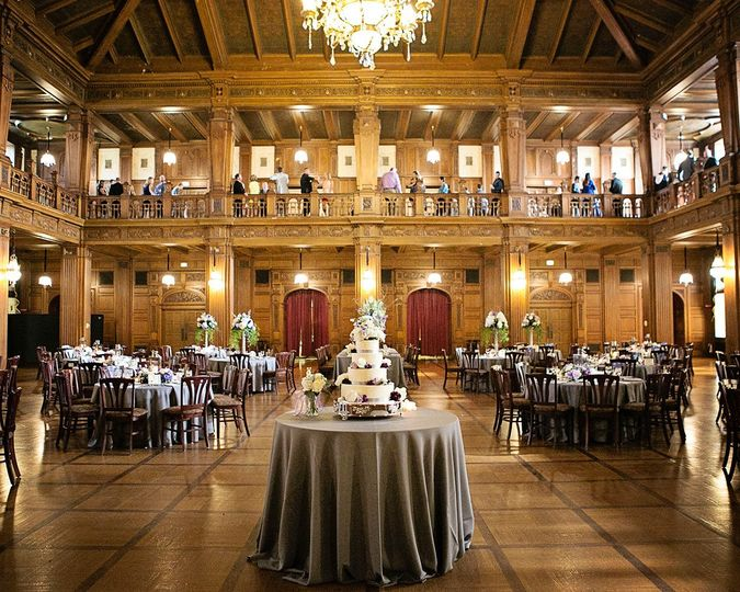Ballroom- the chandelier is truly a must see when you are at the Scottish Rite!