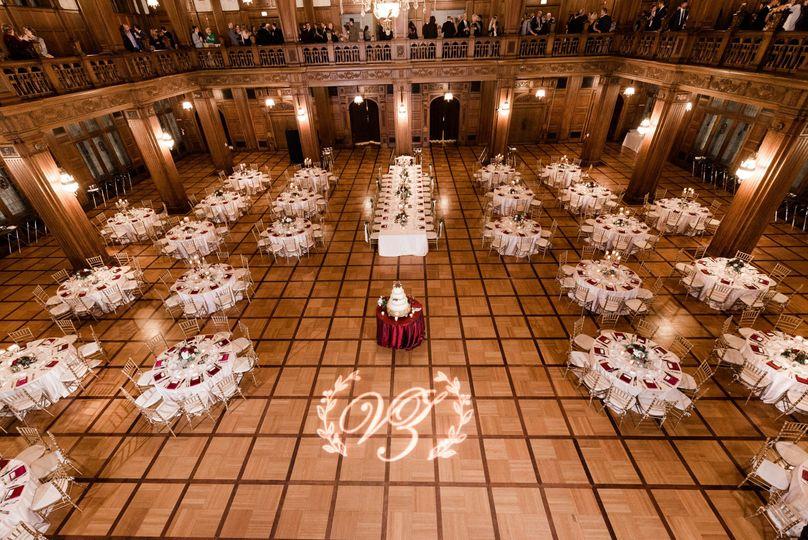 Monogram in the Ballroom