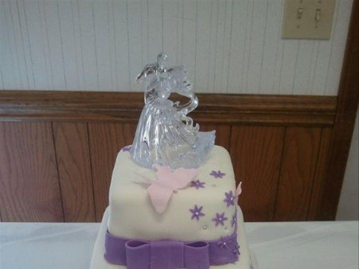 Tmx 1284415605562 Butterflywedcakecj Greensboro wedding cake