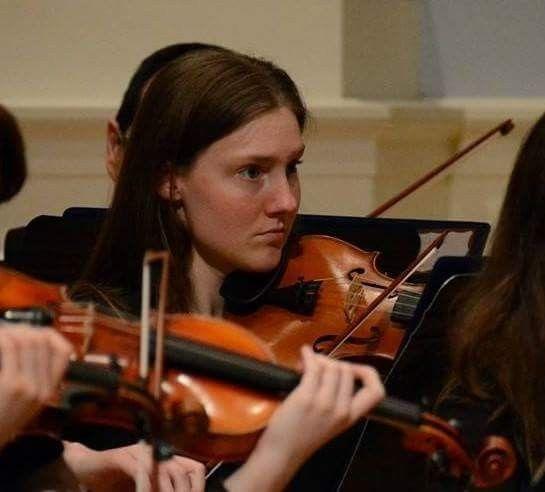Bethany Bracker, violinist