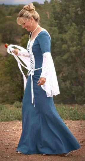 i do in denim dress amp attire cheyenne wy weddingwire