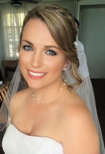 Florida beach bride by Dianna