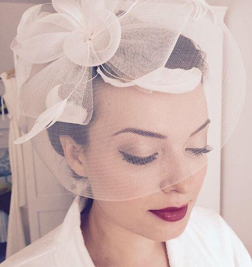 Vintage inspired society bride