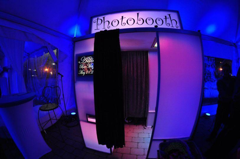 LED Coney Island Styled Photo Station.