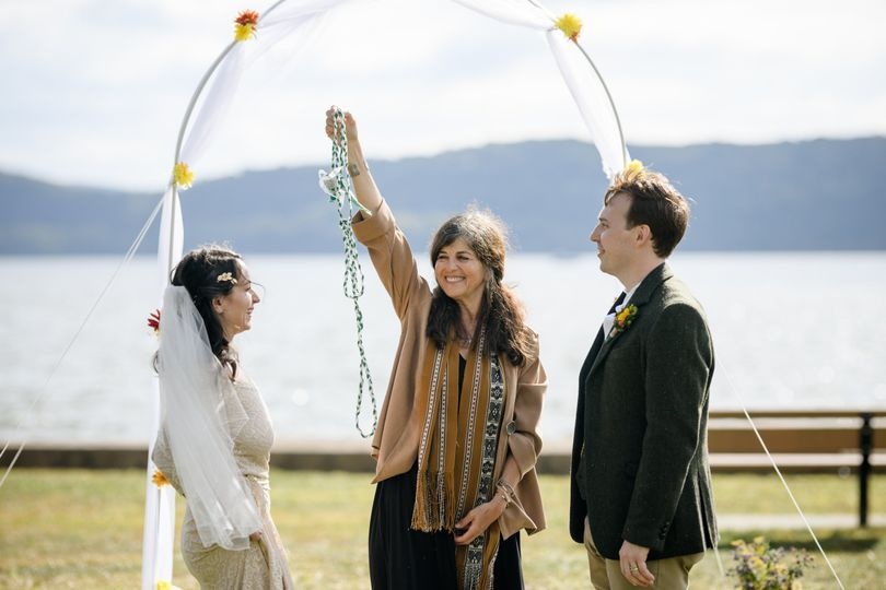 They tied the knot!