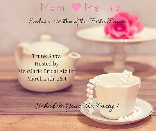 mom and tea trunk show