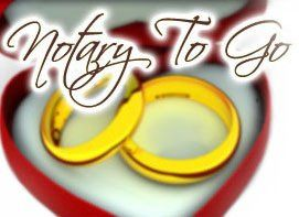 Notary To Go. Planning a wedding, renewal or commitment ceremony, call now to schedule an...