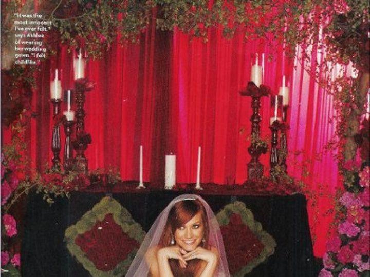Tmx 1262728041887 MarksGardenAshleeSimpson Livingston, NJ wedding eventproduction