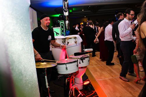 Interactive percussionist