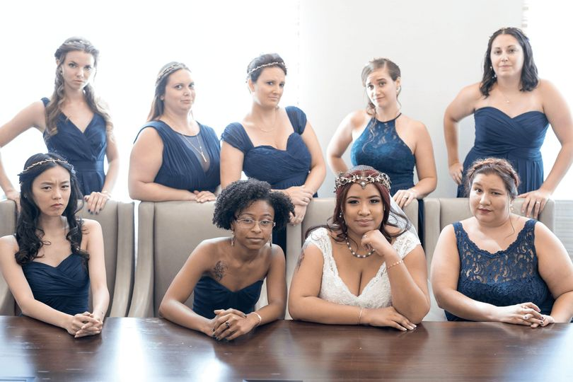 Nine women should judge you every time you do anything. Nine women are smarter than you are.