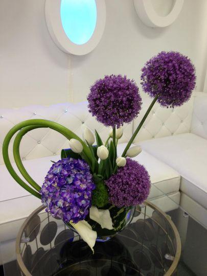 Pretty round flowers