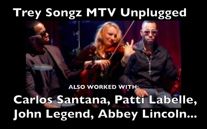 roswitha mtv unpluggedtreysongz worked with